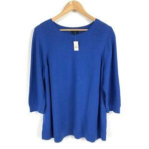 Talbots Blue Crewneck Sweater 3259